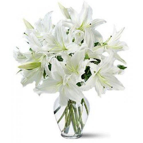 "Букет ""Золушка"" белые лилии фото"