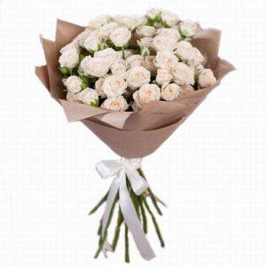 букет 15 кустовых роз