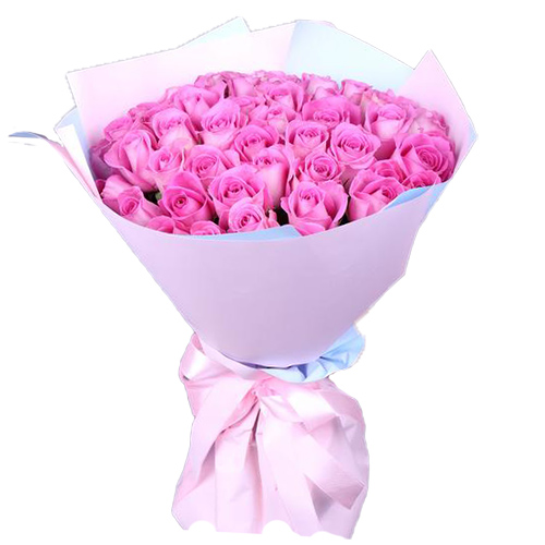 """Фото товара 35 роз """"Аква"""""""