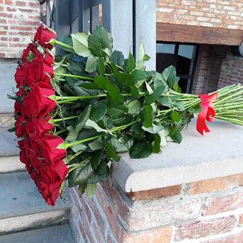 35 красных роз в Сумах